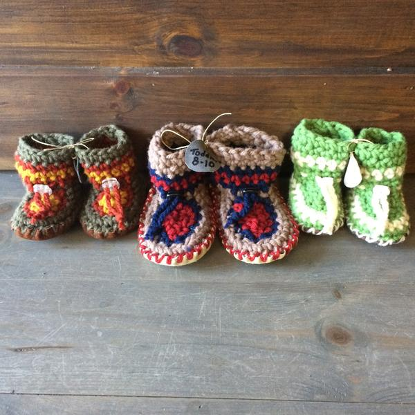 HIPPERS crochet slippers (6-12 months)