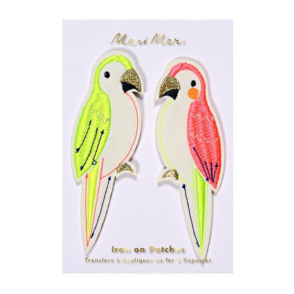 Parrots Patches