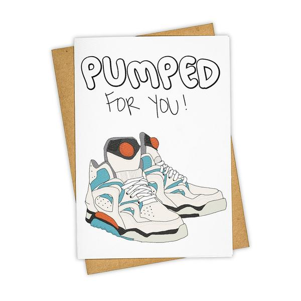 Pumped For You Card