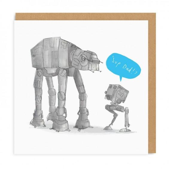 Star Wars 'Sup Dad!? Father's Day Card