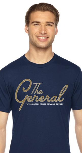 The General Tee (Navy)