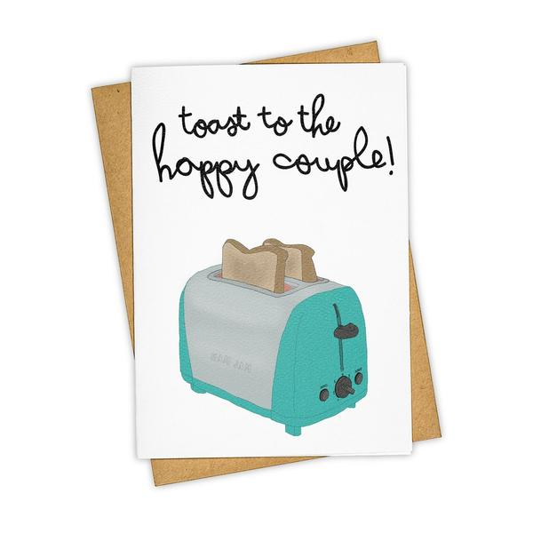 Toast to the Happy Couple! Card