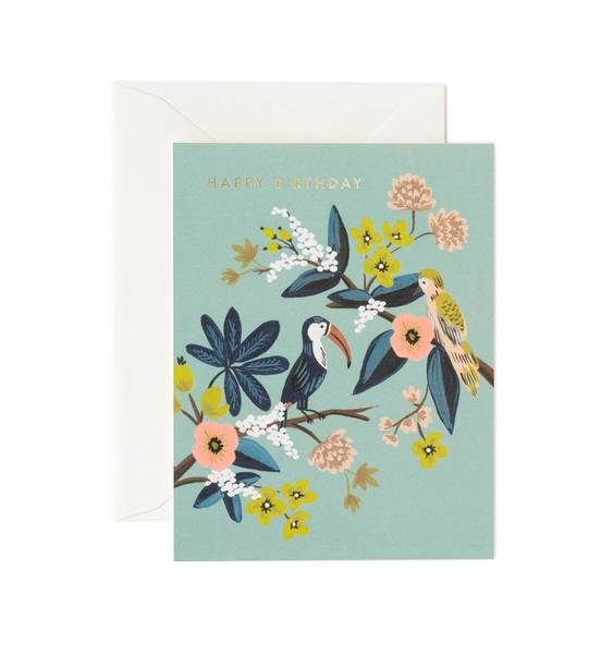 Toucan Birthday Card